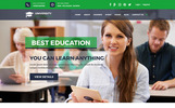 University - Educational, Course and University PSD Template