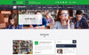 University - Educational, Course and University PSD Template Big Screenshot
