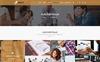 "PSD Vorlage namens ""PROT - Creative Agency"" Großer Screenshot"