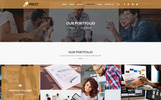 "PSD Vorlage namens ""PROT - Creative Agency"""