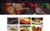 """Responzivní PSD šablona """"DELICIOUS - Restaurant"""" Velký screenshot"""