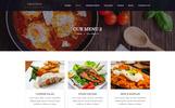 Plantilla PSD para Sitio de Restaurantes españoles