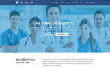 "Tema PSD Responsive #69606 ""HEALTH CARE - Medical Center and Health PSD Template"""