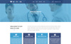 "PSD Vorlage namens ""HEALTH CARE - Medical Center and Health PSD Template"" Großer Screenshot"