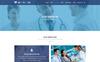 HEALTH CARE - Medical Center and Health PSD Template PSD Template Big Screenshot