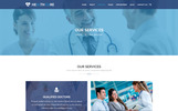 "PSD Vorlage namens ""HEALTH CARE - Medical Center and Health PSD Template"""