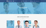 HEALTH CARE - Medical Center and Health PSD Template Template Photoshop  №69606
