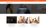 EASY MOVE - Packers and Moving Services PSD Template