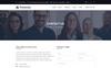 Financial - Üzlet és pénzügyi tanácsadás PSD sablon Nagy méretű képernyőkép