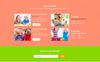 Responsive Kids Care - Children & Kindergarten Psd Şablon Büyük Ekran Görüntüsü