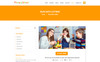 "PSD Vorlage namens ""Primary School - Education Primary School for Children"" Großer Screenshot"