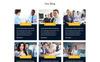 Investment Expert - Investment and Finance PSD Template Big Screenshot