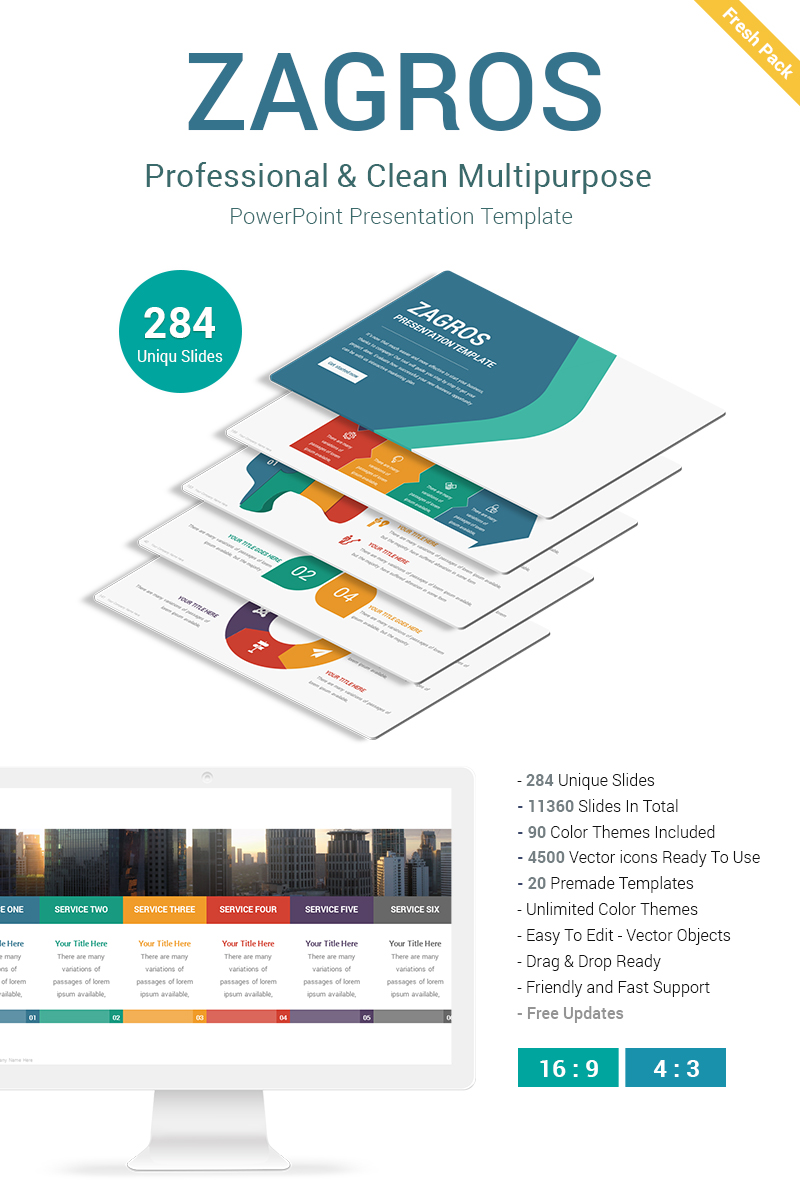 Mod le powerpoint 68714 pour site de de services aux for Service aux entreprises exemple