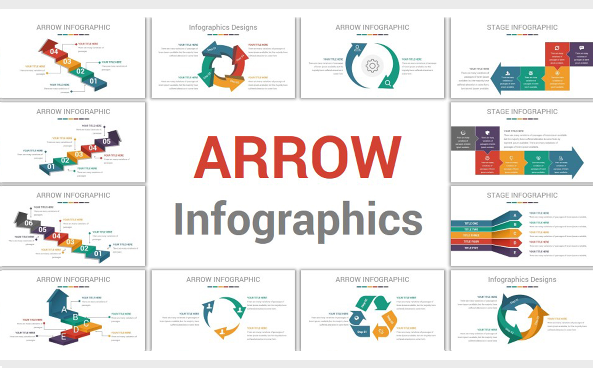 infographics professional business powerpoint template #69801