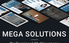 Mega Solutions PowerPoint Template Big Screenshot