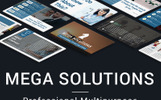 Mega Solutions PowerPoint Template