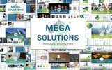 "Tema PowerPoint #70113 ""Mega Solutions"""
