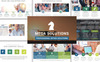 "Tema PowerPoint #70113 ""Mega Solutions"" Screenshot grande"