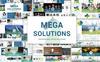 """Luxusní PowerPoint šablona """"Business Style -2 In 1"""" Velký screenshot"""