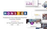 """Luxusní PowerPoint šablona """"Monster"""""""