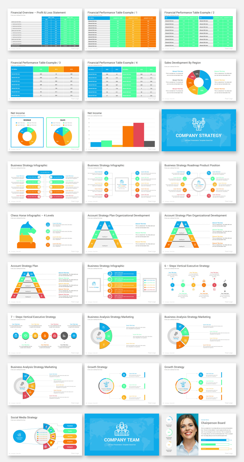 Company Presentation Toolbox - PPTX PowerPoint Template