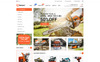 "WooCommerce Theme namens ""Bianco - The Best Store"" Großer Screenshot"