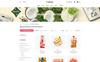 "Template WooCommerce Responsive #79381 ""Mosa - Organic"" Screenshot grande"