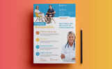 Medical Flyer Corporate Identity Template