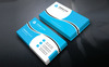 Johnson Martin Personal Business Card Corporate Identity Template Big Screenshot