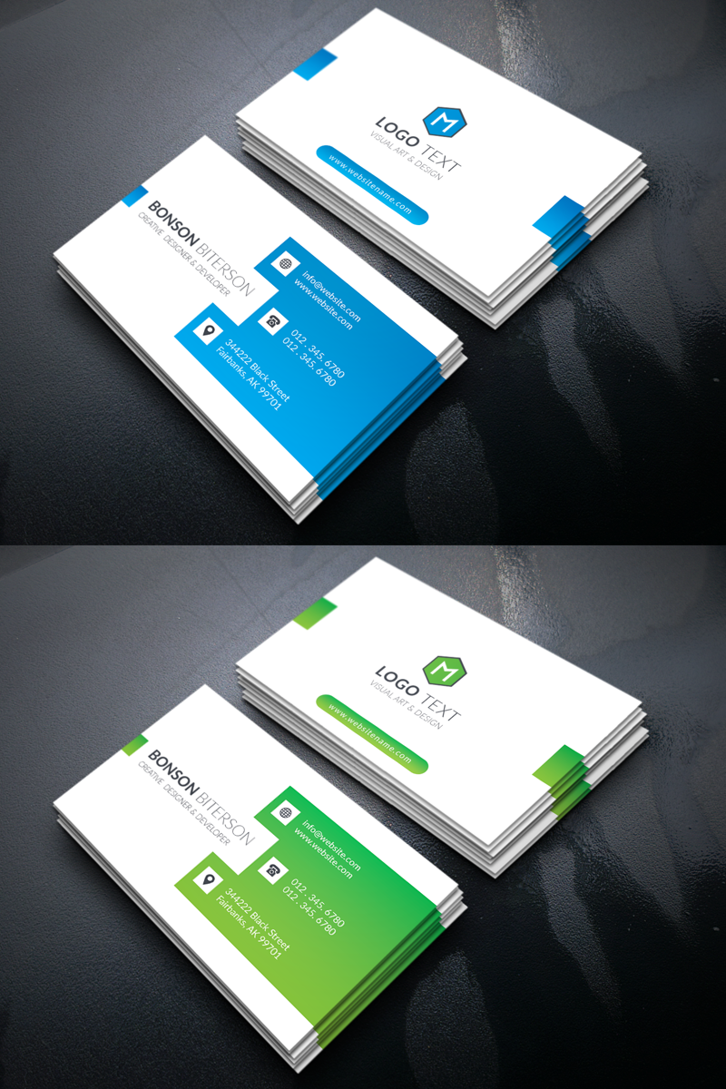 Bonson biterson corporate business card corporate identity template bonson biterson corporate business card corporate identity template accmission Image collections