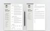 Kavin Weliyam Modern Resume Template Big Screenshot