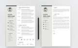 Kavin Weliyam Modern Resume Template