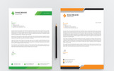 Smas Brand Two Design Letterhead Corporate Identity Template