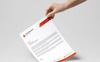 Smas Brand Two Design Letterhead Corporate Identity Template Big Screenshot