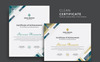 """Modern & Clean"" 奖金证书模版 大的屏幕截图"