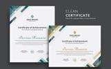 """""""Modern & Clean"""" 奖金证书模版"""