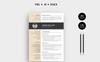 Jason William Modern Resume Template Big Screenshot