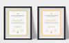 Szablon certyfikatu Clean & Professional #77726 Duży zrzut ekranu