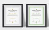 Szablon certyfikatu Clean & Professional #77726