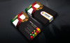 "Template di Identità Aziendale #76618 ""R Company Business Card"" Screenshot grande"