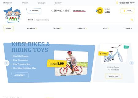 ToyMart - Store for Children