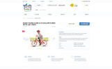 ToyMart - Store for Children Website Template