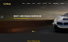 "Modello di Landing Page #73667 ""CarBuzz 