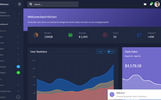 """Millenium - Bootstrap 4 Dashboard"" Responsive Admin Template"