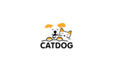 Animal Dog and Cat Logo Template