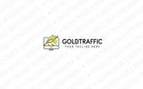 GoldTraffic Logo Template