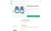 Bootstrap Kidos - Kids Clothing WooCommerce-tema En stor skärmdump