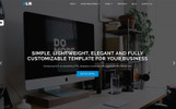 """ALIE"" Responsive Website template"
