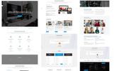 Plantilla Web para Sitio de Empresas de software