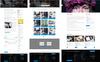 Plantilla Web para Sitio de Empresas de software Captura de Pantalla Grande
